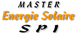 Master Énergie Solaire UPVD